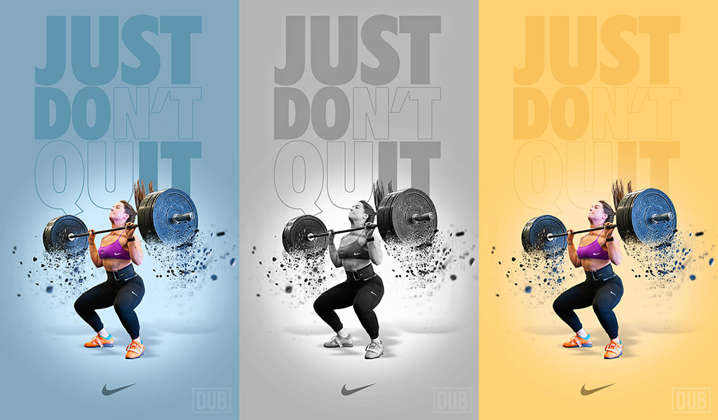 Nike Women Weightlifting Ad